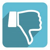 stock photo of dislike  - dislike icon - JPG
