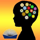 stock photo of cognitive  - Reading to children in early childhood plays a vital role in the promotion of imagination - JPG
