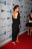 LOS ANGELES - APR 12:  Maria Menonous at the GLAAD Media Awards at Beverly Hilton Hotel on April 12,