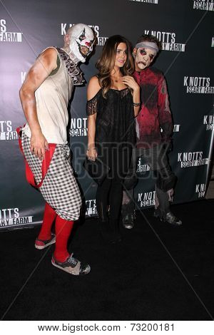LOS ANGELES - OCT 3:  Jillian Murray at the Knott's Scary Farm Celebrity VIP Opening  at Knott's Berry Farm on October 3, 2014 in Buena Park, CA
