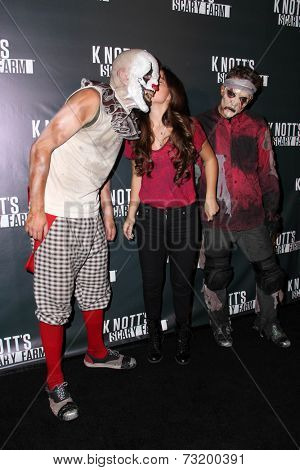 LOS ANGELES - OCT 3:  Piper Curda at the Knott's Scary Farm Celebrity VIP Opening  at Knott's Berry Farm on October 3, 2014 in Buena Park, CA