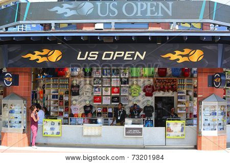 US Open collection store during US Open 2014 at Billie Jean King National Tennis Center