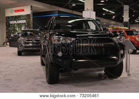 2015 Toyota 4Runner 4X4  Trd Pro V6 At The Orange County International Auto Show