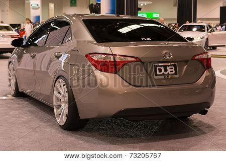 2015 Toyota Corolla Dub Edition At The Orange County International Auto Show
