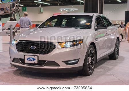 2015 Ford Taurus At The Orange County International Auto Show