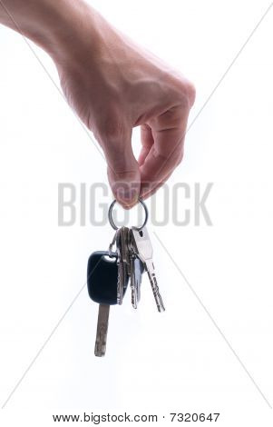 Hand With Keys
