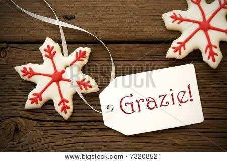 Christmas Star Cookies With Grazie