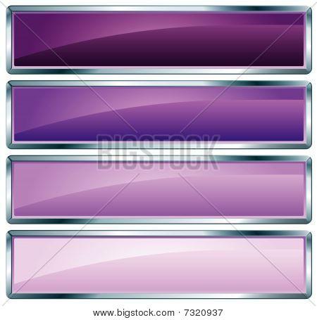 Metallic Frame Violet