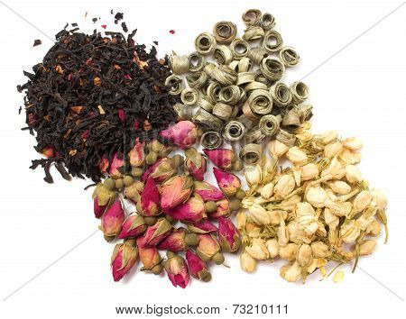 Tea And Dried Flowers