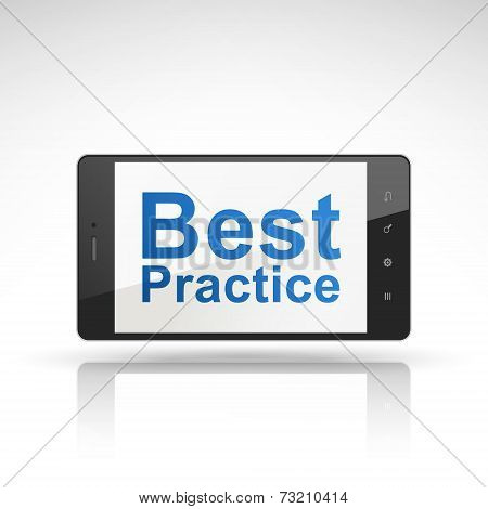 Best Practice Words On Mobile Phone