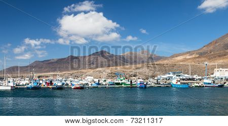 Morro Jable In Fuerteventura, Spain