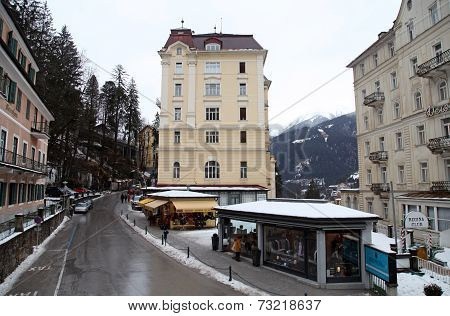 Ski Resort Bad Gastein, Austria