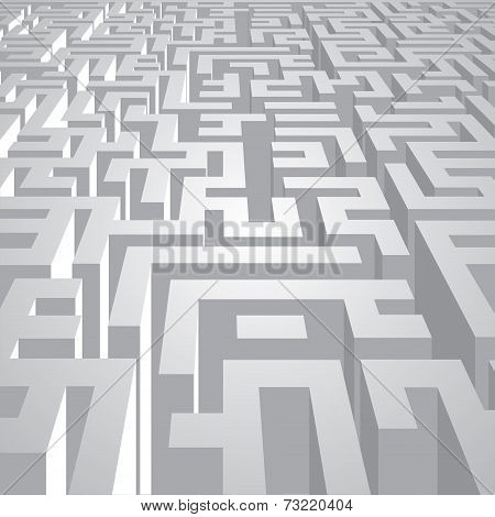 Complicated Labyrinth Corridors