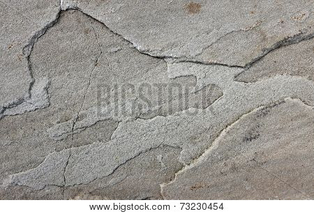 Uneven Grey Sandstone Slab