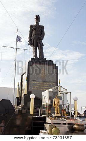 Monument to the Admiral of royal Thai fleet Prinze of Krom Luang Jumborn Khet Udomsakdi