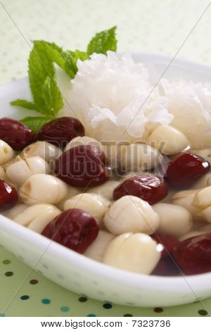 Lotus Seeds and Jujubes