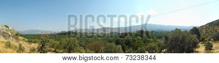Panorama of Selcuk Turkey