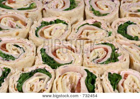 Turkey Wraps Sandwiches