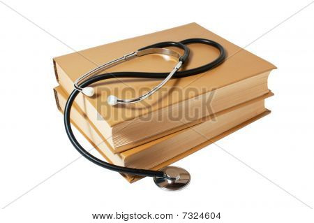 Books And A Stethoscope