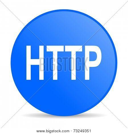 http internet blue icon