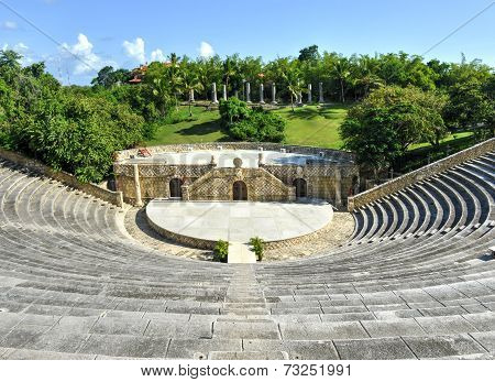 Amphitheater, Altos De Chavon, La Romana, Dominican Republic