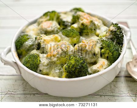 Rustic Broccoli And Cheese
