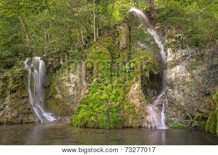 Gueterstein waterfall