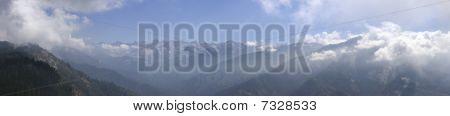 The Sierras Panoramic