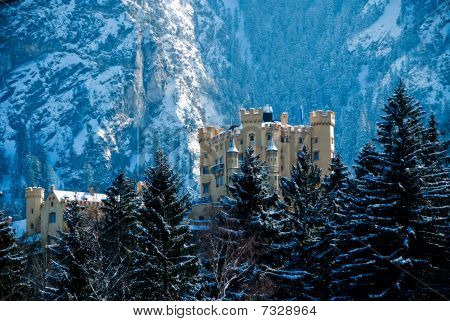 The Castle Of Hohenschwangau