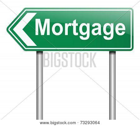 Mortgage Concept.