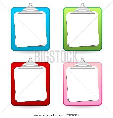 Portafotos coloridos