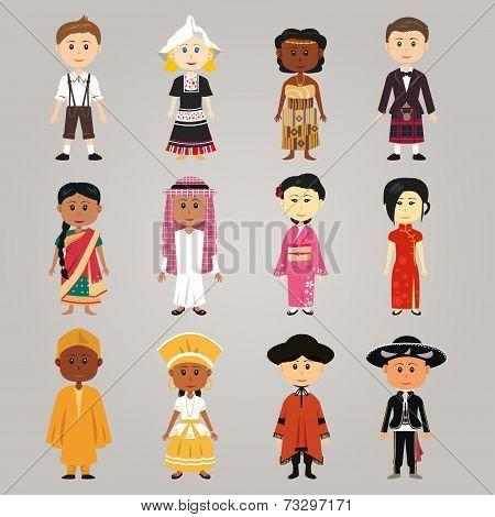 Different Ethnic People