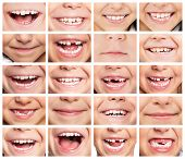 pic of human face  - Faces of smiling children - JPG