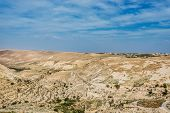 stock photo of crusader  - shobak crusader castle fortress Jordan middle east - JPG