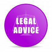 image of judiciary  - legal advice web icon  - JPG