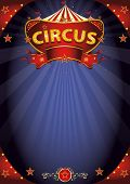 foto of circus tent  - Fantastic night circus poster - JPG
