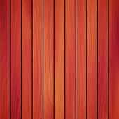 picture of red siding  - Vector wood plank - JPG