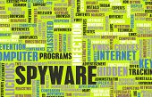 stock photo of spyware  - Spyware Technology as a Online Program Concept - JPG