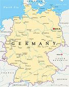 pic of bonnes  - Germany Political Map with capital Berlin - JPG
