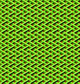 pic of chain link fence  - abstract seamless green chain link fence with red background - JPG