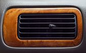 picture of dial pad  - Air conditioner button pad in a car - JPG