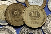 image of pesos  - Coins of the Dominican Republic - JPG
