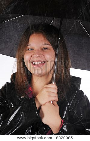 Happy In The Rain