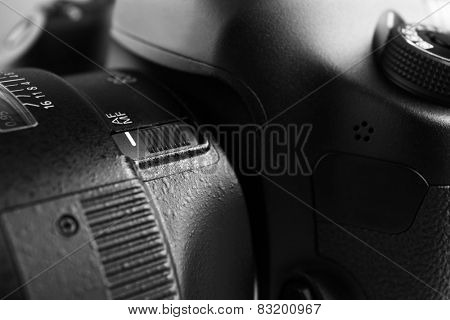 Digital camera close up