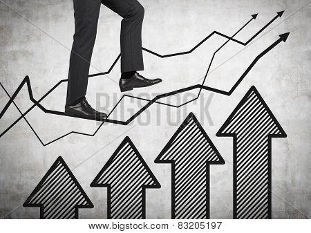 Leg Walking On Chart