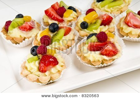 Plate Of Fruit Dessert