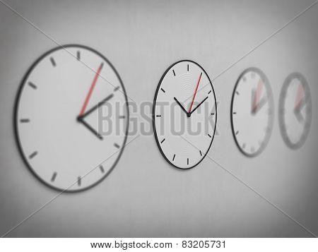 Classic Four Clock