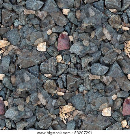 gravel stones seamless texture