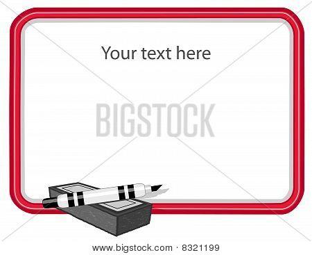 Whiteboard, Blank