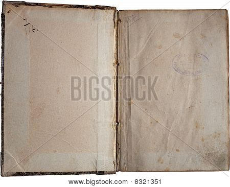 Old Paper Isolated On White